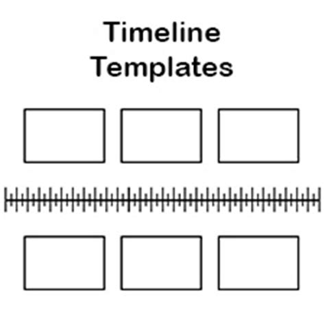 blank history timeline templates  kids  students