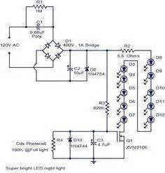 two speeds two directions motor control power diagram With super bright led driver circuit 5