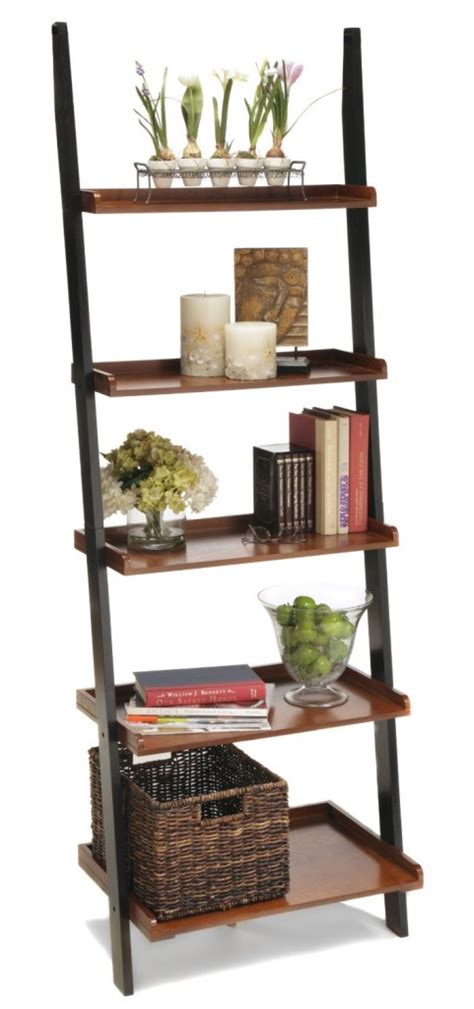 Leaning Bookshelf by Best 22 Leaning Ladder Bookshelf And Bookcase Collection