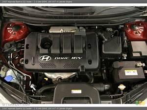 2 0 Liter Dohc 16v Vvt 4 Cylinder 2007 Hyundai Elantra
