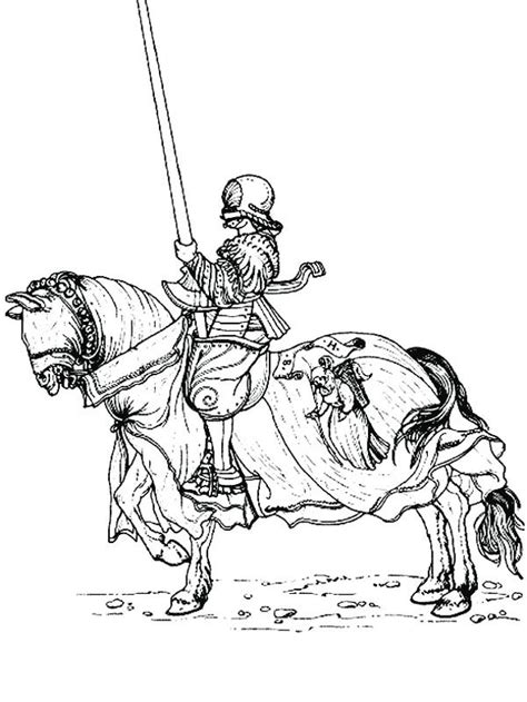 drawing knight coloring page coloring sky