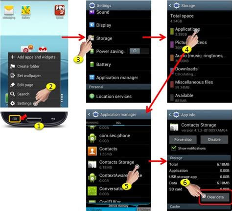 android removal android how to delete all contacts kylook faq