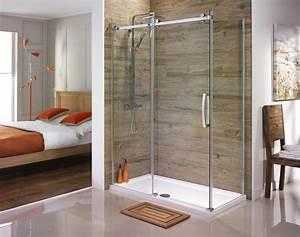 Orca Frameless Sliding Shower Doors From Serene Bathrooms