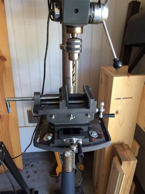 northern industrial cross  drill press vise