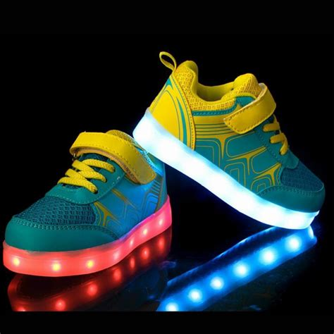 Boys Light Up Shoes by Dogeek Led Shoes Mesh Light Up Shoes 8 Colors