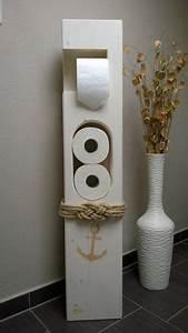 Wc Rollenhalter Lustig : toilet paper holder maritim wood toilettenpapierhalter maritim und holz ~ Sanjose-hotels-ca.com Haus und Dekorationen