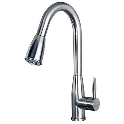 Kitchen Sink Faucet by Contemporary 16 Quot Pull Spray Kitchen Sink Faucet