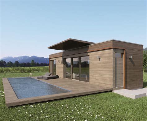 Moderne Häuser Unter 250 000 by Moving House Rendering Holzplatten Fassade Inkl Pool