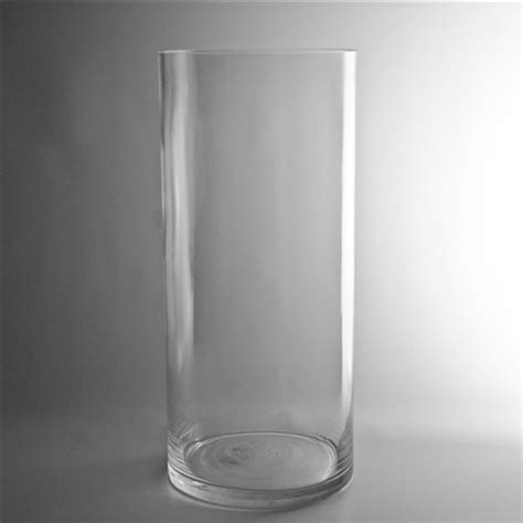 Wide Glass Vases by Wide Glass Vase Cylinder 12 Inch
