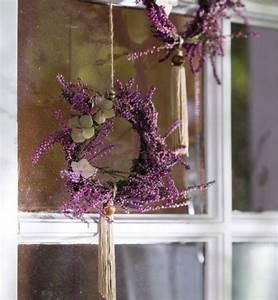 Herbst Dekoration Fenster : fenster deko herbst mini kr nze lavendel schnur blumen f r den gro en tag ~ Watch28wear.com Haus und Dekorationen