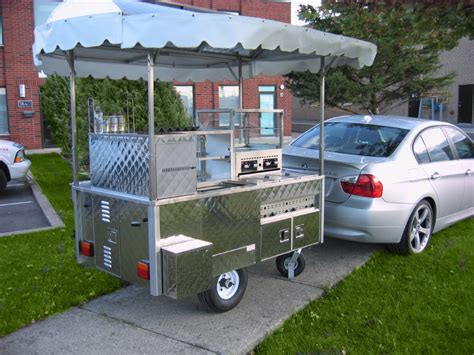 hot dog vending cart silver star metal fabricating