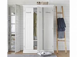 Maison Du Monde Armoire : d co chambre armoire penderie en bois blanc fashion maman ~ Melissatoandfro.com Idées de Décoration