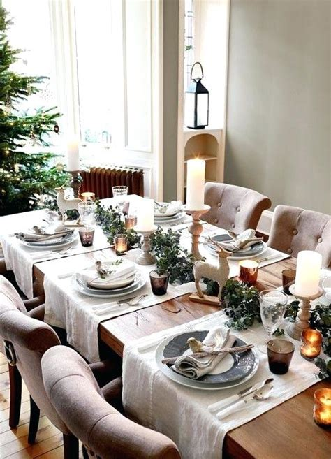 christmas table decoration ideas   budget holiday decor