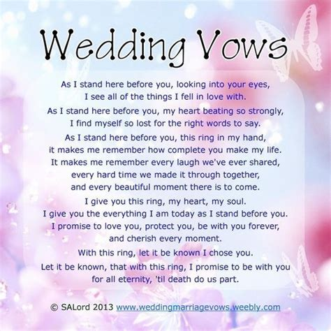 wedding vows    cry   page