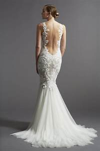 wedding decoration wedding dresses lace open back With wedding dress back