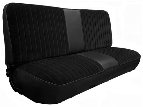 197379 Fseries Ford Truck Vinyl & Cloth Bench Seat Cover