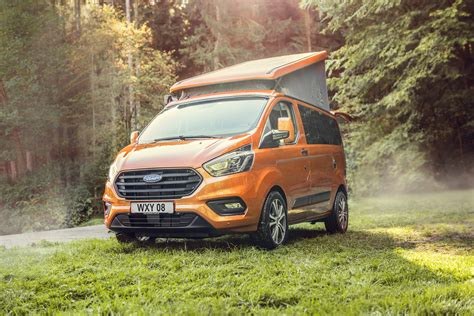 Ford Transit Custom Nugget Cervan Pitches Up Auto Express