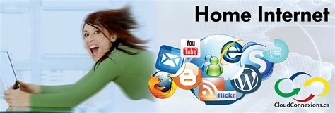 home internet cloud connexions