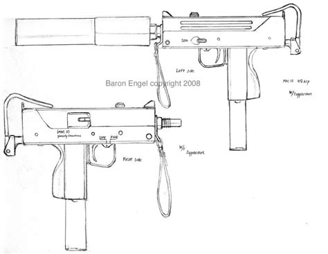 Ingram MAC-10 submachine gun by Baron-Engel on DeviantArt
