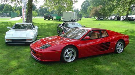 Nice one i've just started on a 512tr myself, and looking at the 2 cars, i think i prefer the testarossa actually. The Ferrari 512M is the 3rd generation of the Ferrari Testarossa. It lost the pop-up headlights ...