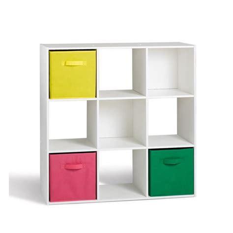 bureau peu profond compo cube 9 cases blanc 91 x 91cm achat vente petit