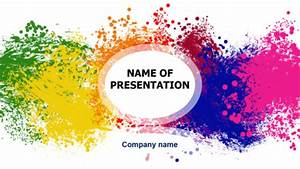 Download Free Happy Colors Powerpoint Template For
