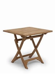 Gartentisch Holz Massiv : gartentisch klapptisch gartenm bel massiv aus teak holz 80 x 80 cm 2693 ebay ~ Indierocktalk.com Haus und Dekorationen