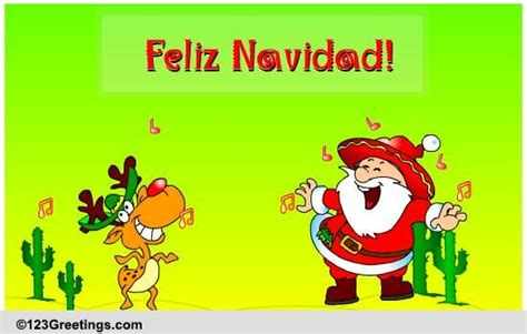 feliz navidad  spanish ecards greeting cards
