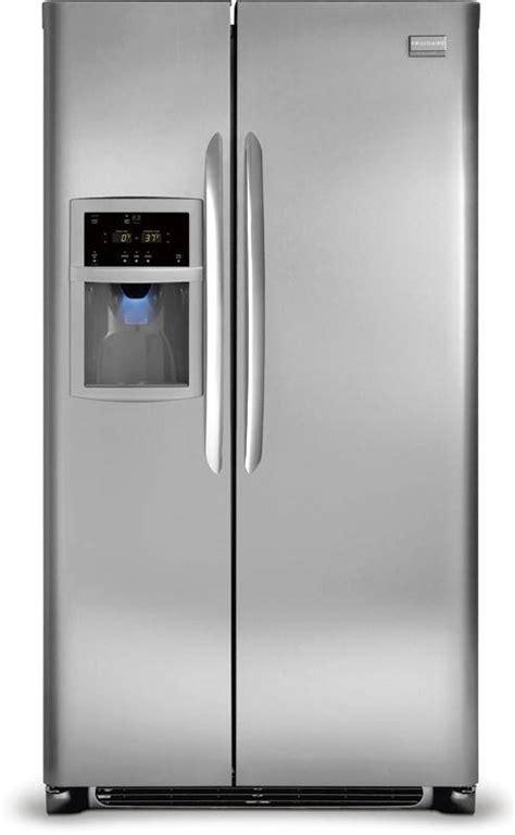 frigidaire dghskf  cu ft side  side refrigerator   spillsafe glass shelves
