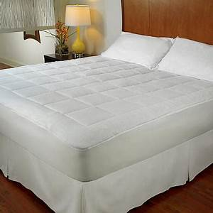 concierge collection all season reversible mattress pad With all seasons reversible mattress pad