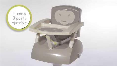 chaise haute badabulle leclerc le rehausseur de chaise thermobaby