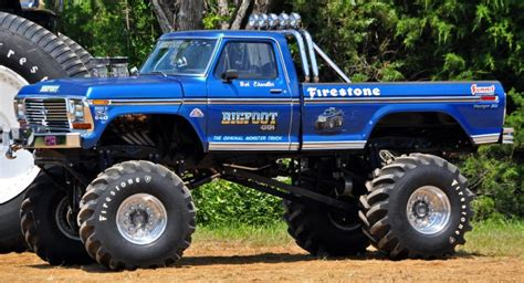 show me a monster truck bigfoot 1 monster truck restoration complete