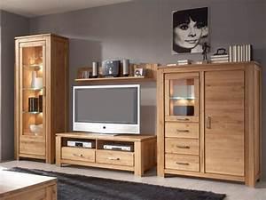 Meuble Salon Bois : meubles de salon en bois moderne id e inspirante pour la conception de la maison ~ Teatrodelosmanantiales.com Idées de Décoration