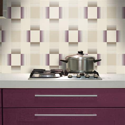 kitchen tiled wallpaper holden hikari square stripe pattern embossed vinyl 3306