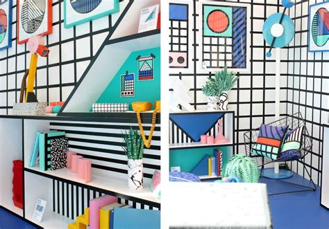Feel The Colorful Vibe Of Memphis Design