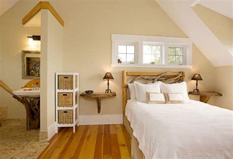 t 234 te de lit bois flott 233 pour une chambre d ambiance naturelle