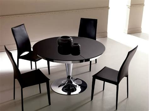 table cuisine ronde blanche table a manger ronde extensible