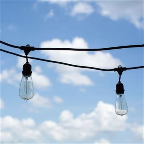 outdoor caf 233 string lights 1890 era 40w edison style