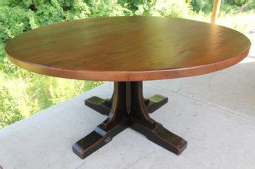 custom pedestal   table ecustomfinishes