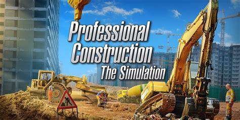 professional construction  simulation nintendo switch games nintendo