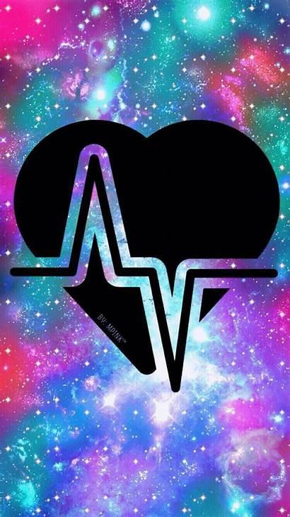 Pantalla Fondos Galaxy Kawaii Emoji Fondo Heart