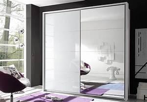 Schwebetürenschrank Weiß Hochglanz Spiegel : schwebet renschrank quattro wei glas spiegel ~ Bigdaddyawards.com Haus und Dekorationen