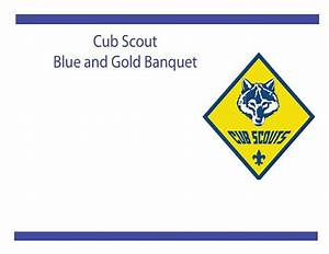 printable blue and gold flier invitation cub scouts With cub scout blue and gold program template