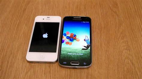 iphone s4 samsung galaxy s4 mini vs iphone 4s