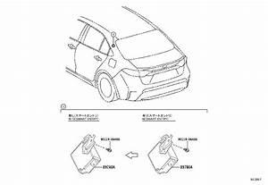 Toyota Corolla Receiver Assembly  Door Control  U0026 Tire