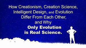 What Are The Differences Between Evolution And Creationism