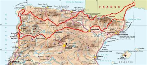 Cote Atlantique Espagne Carte by Track Road Voyage 224 Moto En Espagne Et Au Portugal