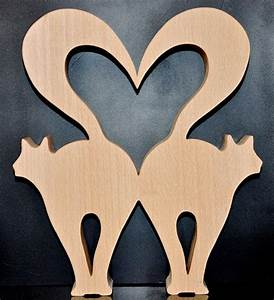 Kattenliefde Scroll saw patterns and projects