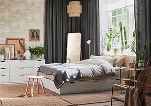 Rangement Ikea Chambre : lit avec rangement notre s lection de mod les pour la rentr e elle d coration ~ Teatrodelosmanantiales.com Idées de Décoration