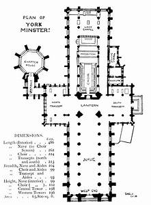 bell39s cathedrals york by a clutton brock With york minster floor plan